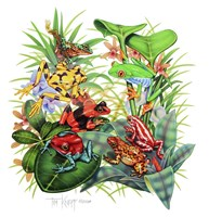 Frogs About Fine Art Print