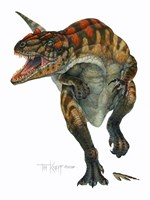Allosaurus Fine Art Print