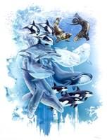 Ocean Mammals Fine Art Print
