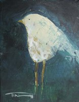 Waiting Bird Fine Art Print