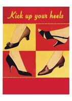 Kick Your Heels Fine Art Print