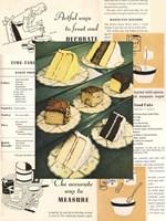 Menu Cakes Fine Art Print