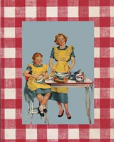 Picnic Mom Fine Art Print