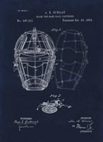 1883 Mask For Baseball Catcher Fine Art Print