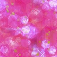 Glitter Love Pink Pattern Fine Art Print
