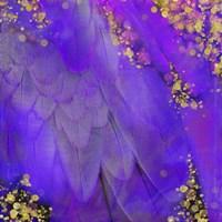 Mid-Summer Magik Purple Framed Print