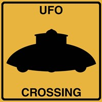 UFO Crossing Fine Art Print