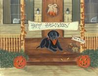 Halloween Lab Fine Art Print