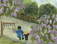 The Amish Flower Shop Fine Art Print