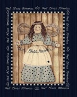 Americana Angel Fine Art Print