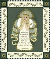 Flower Angel 4 Fine Art Print