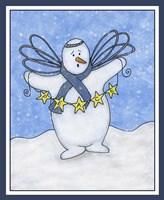 Snow Angel Fine Art Print