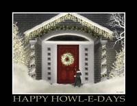 Happy Howl-E-Days Fine Art Print