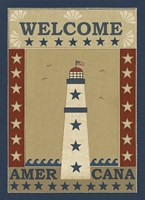 Americana Lighthouse Fine Art Print