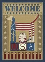 USA Welcome Fine Art Print