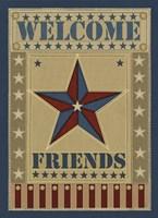 Welcome Friends Fine Art Print
