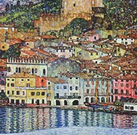 Malcena at the Gardasee, 1907 Fine Art Print