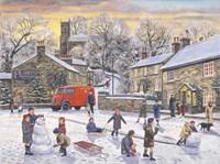 Christmas Holidays Fine Art Print