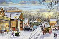 Winter Service Fine Art Print