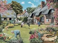 A Cottage Garden Fine Art Print