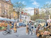 Market Day Fine Art Print