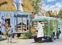 The Village Bakery Fine Art Print