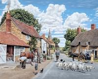 The Village Farrier Fine Art Print