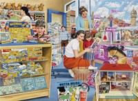 In The Toy Shop Fine Art Print
