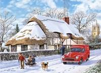 Winter - Puzzle Fine Art Print