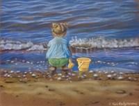 At The Beach Fine Art Print