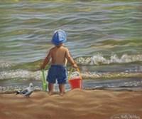 Down By The Shore Fine Art Print