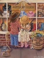 A Little Bit Country Fine Art Print