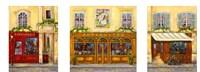 Paris Triptych B Fine Art Print