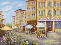 Flower Street Fine Art Print