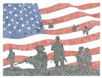 American Heroes Fine Art Print
