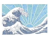 Off California Blue Fine Art Print