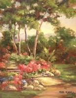 Along the Garden Path - Final Fine Art Print