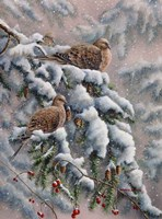 Winter Trio Fine Art Print