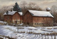 Untitled 1/ Barn Fine Art Print