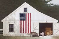 Barn With Piglet Fine Art Print