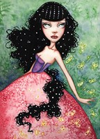 Madame Firefly Fine Art Print