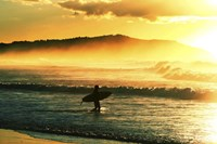 Sunrise Surf Fine Art Print