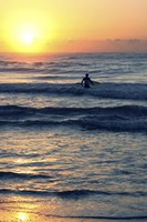 Surf In The Morning Fine Art Print