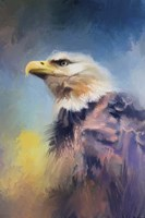 Eagle On Guard Fine Art Print