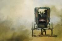 Amish Wagon Fine Art Print