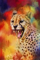 Colorful Expressions Cheetah 2 Fine Art Print