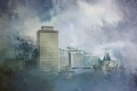 Nashville Tennessee Skyline Fine Art Print