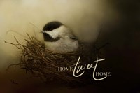 Home Tweet Home with words Fine Art Print