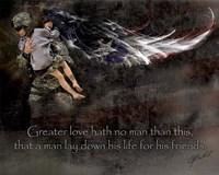 Military Rescue Fine Art Print