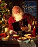 Santa Framed Print